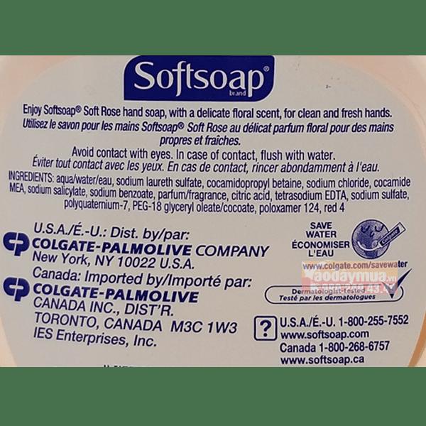Thành phần đặc biệt cấu tạo nênnước rửa tay softsoap aloe vera Mỹ