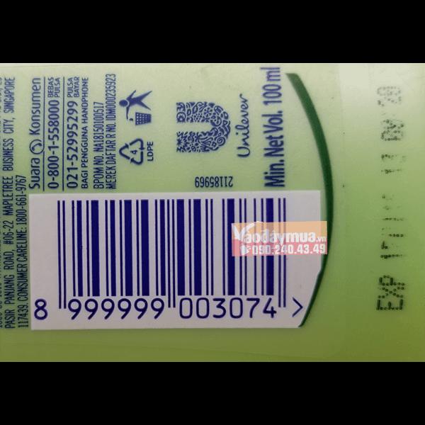 Nên check mã vạchsữadưỡng thể dưỡng ẩm trắng da Vaseline của Mỹ
