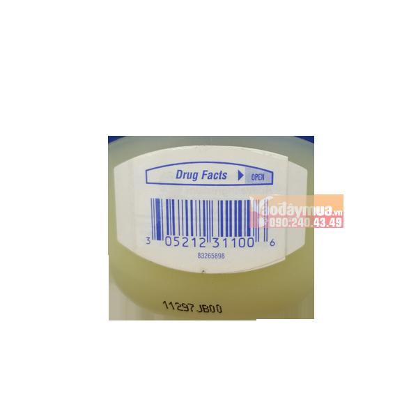 Check mã vạch sáp dưỡng ẩm Vaseline của Mỹ đảm bảo hàng chính hãng