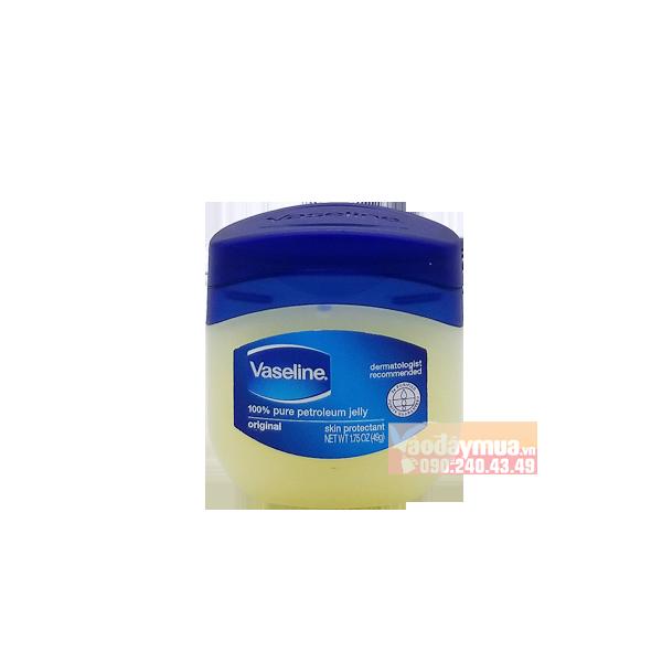 Hình ảnh tổng thể của sáp dưỡng ẩm Vaseline Pure Petroleum Jelly