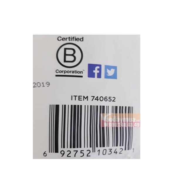 Check mã vạchhạt chiađen hữu cơ Nutiva Organic Chia Seed Black của Mỹ