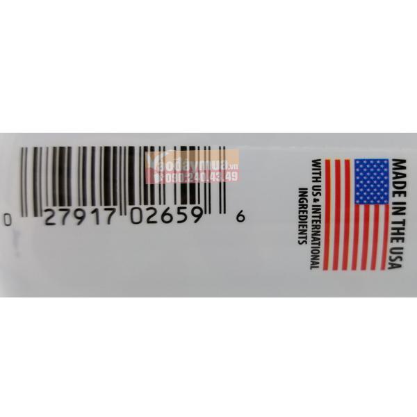 Check mã vạchKẹo dẻo canxi của Mỹ dành cho phụ nữ Vitafusion Women's Multivitamin