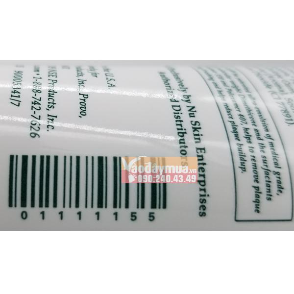 Nên check mã vạchkem đánh răng Nuskin AP24 của Mỹ