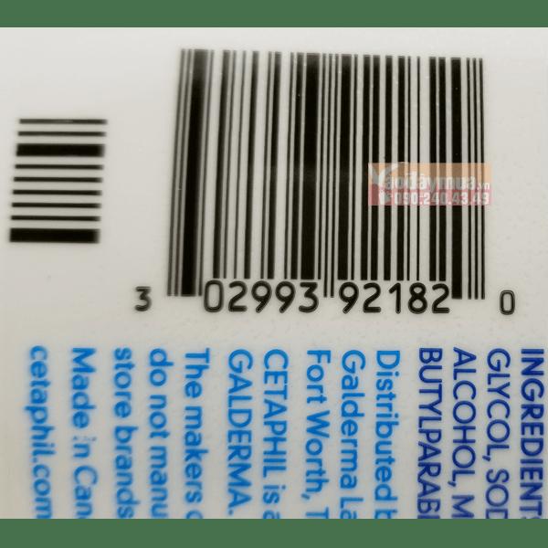 Nên check mã vạchsữa rửa mặt dịu nhẹ Cetaphil Gentle Skin Cleanser 591ml của Mỹđảm bảo chính hãng