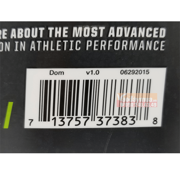 Nên check mã vạch củasữa tăng cơ Musclepharm Combat Protein trước khi mua hàng