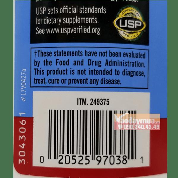 Check mã code của viên bổ khớp glucosamine HCL with MSM 1500mg