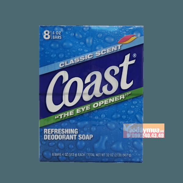 Xà bông cục diệt khuẩn, sạch da Coast