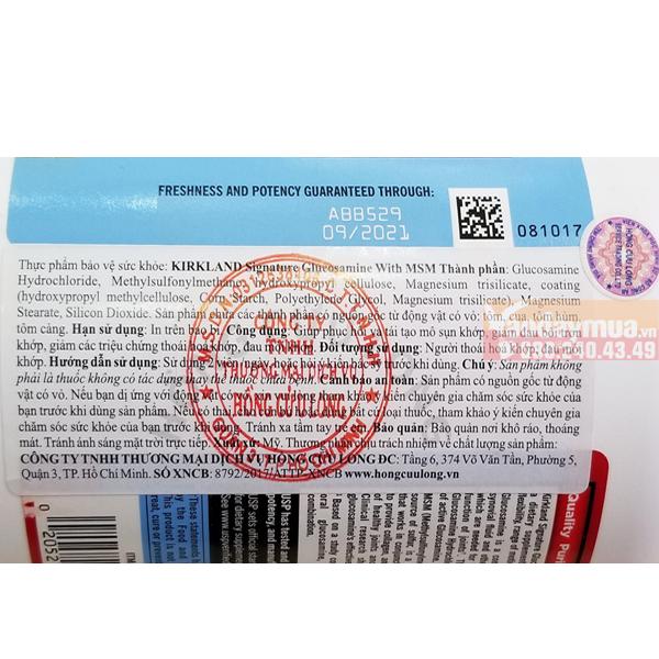 Hàng thật sẽ có nhãn phụ ghi rõ thành phần, công dụng, cách dùng, nhà sản xuất, nhà nhập khẩu. Có mộc đỏ của đơn vị nhập khẩu. Tem chống hàng giả của bộ công an.