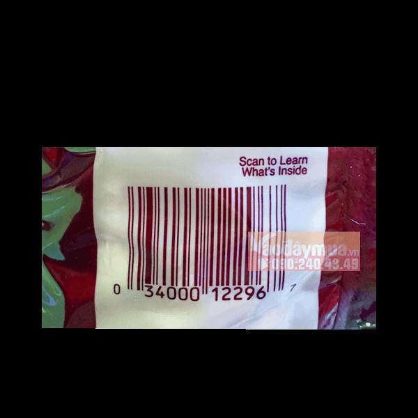 Check mã vạch kẹo chocolate Hershey's Kisses Milk của Mỹ