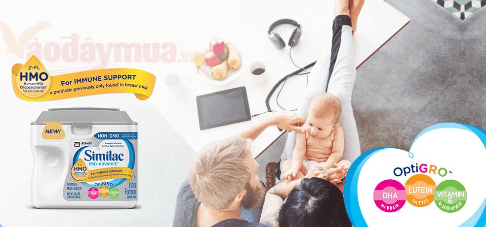 Thông tin về sữa similac pro của Mỹ