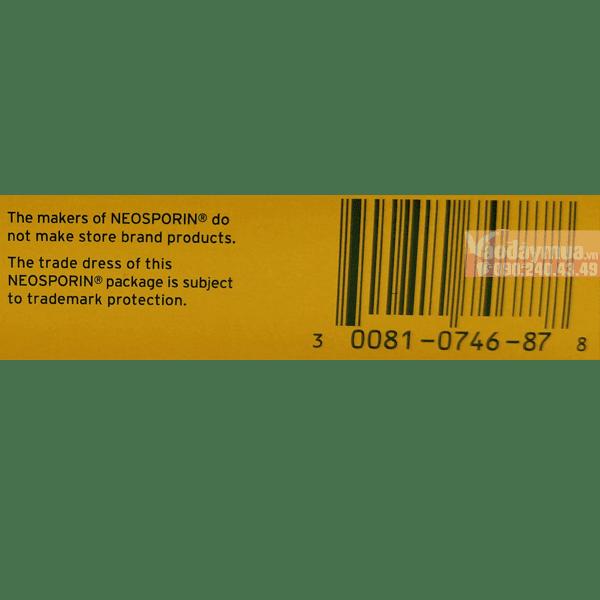Check mã vạch kem khử trùng vết thương Neosporin