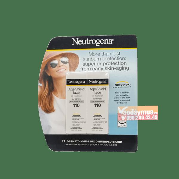 Hình ảnh tổng thể củaKem chống nắng chống lão hóa Neutrogena Age Shield Face SPF 110 Mỹ