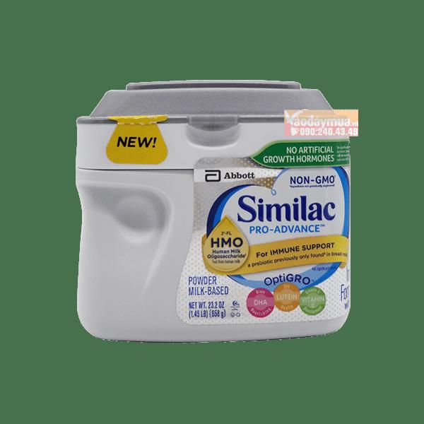 Sữa Similac Pro Advance Non GMO – HMO cho bé từ 0 -12 tháng