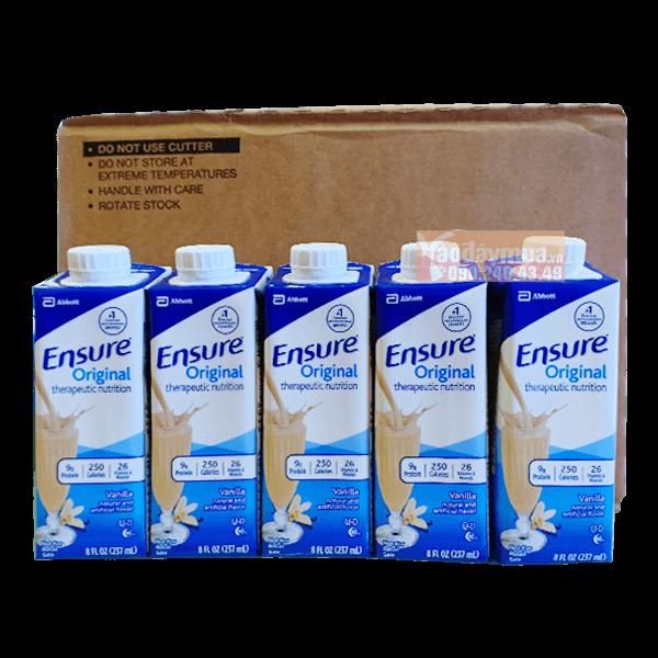 Sữa ensure nước hộp giấy 237ml * 24 hộp