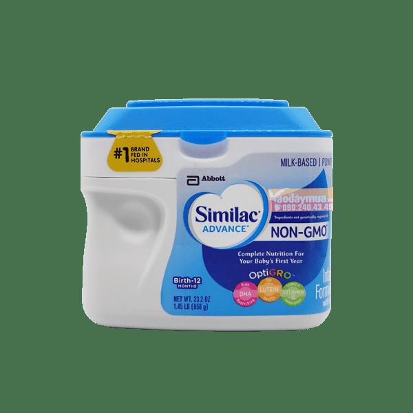 sữa Similac Advance dành cho bé từ 0-12 tháng của Mỹ