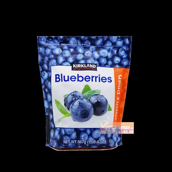 Hình ảnh tổng thểqủa việt quất Kirkland Organic Blueberries