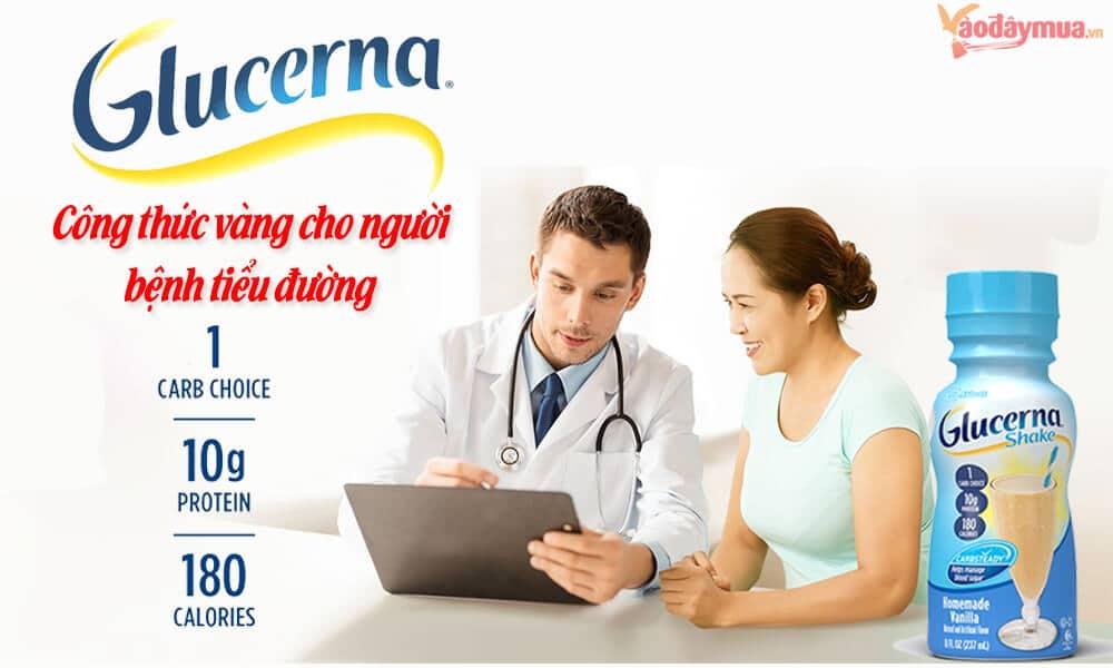 Nguồn năng lượng từ sữa Glucerna
