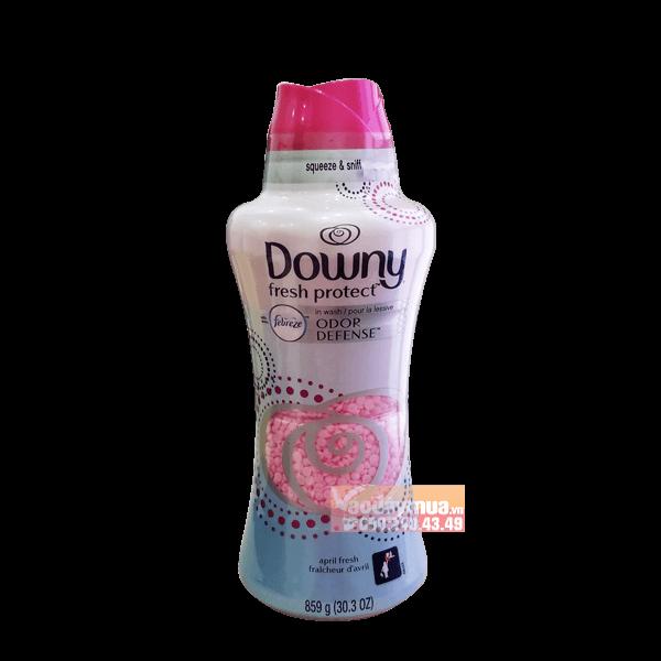 Viên xả vải Downy (màu hồng) Downy Fresh Protect 859g của Mỹ