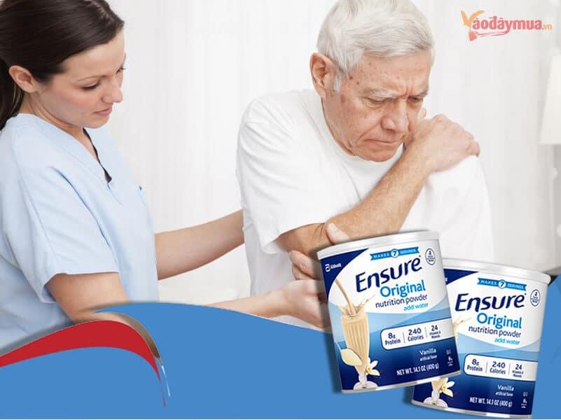 Sữa Ensure chính là lựa chọn hoàn hảo dành cho người mắc căn bệnh xương khớp