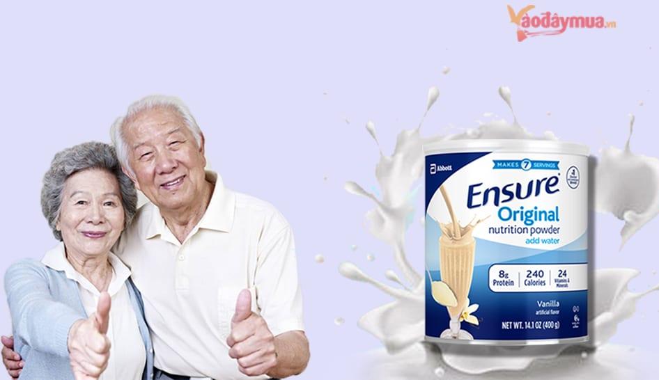 Sữa Ensure 400g của Mỹ có tốt không?