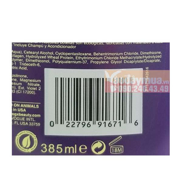 Nên check mã vạch dầu xả Biotin & Collagen trước khi mua nhé!