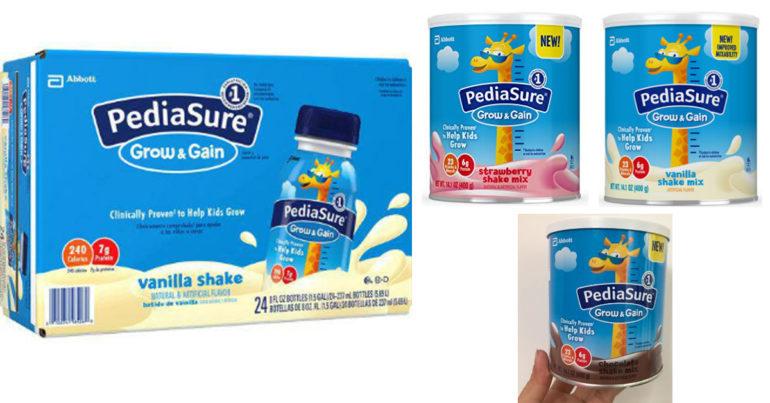 Hiện tại Vaodaymua.vn có 4 loại sữa Pediasure dạng nước và dạng bột