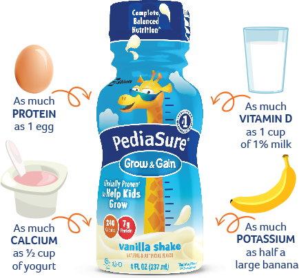 Sữa Pediasure dạng nước bổ sung nhiều chất dinh dưỡng dành cho bé từ 1 - 13 tuổi