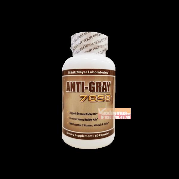 Hình ảnh tổng thể của viên uốngAnti Gray Hair 7050 của Mỹ