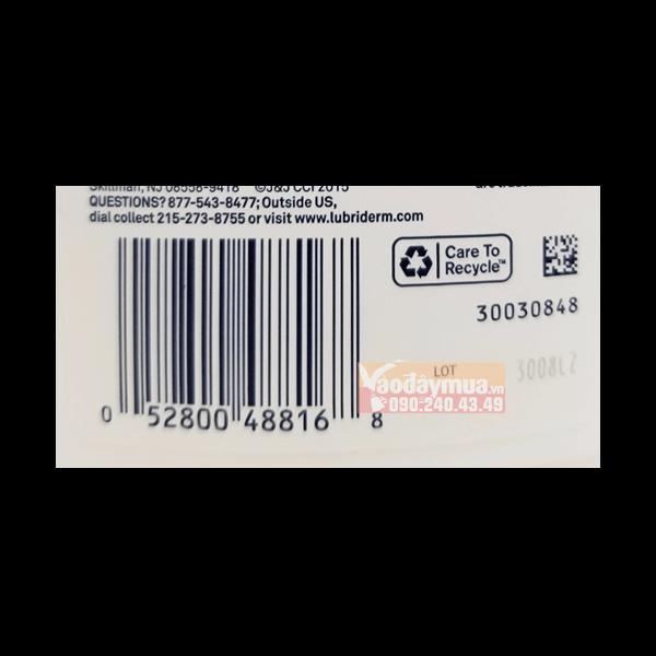 Check mã vạch trước khi mua sữa dưỡng thểLubriderm Daily Moisture Mỹ