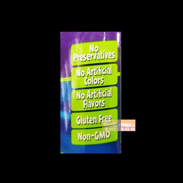 kẹo dẻo Focus Factor Kids không chứa các chất hóa học