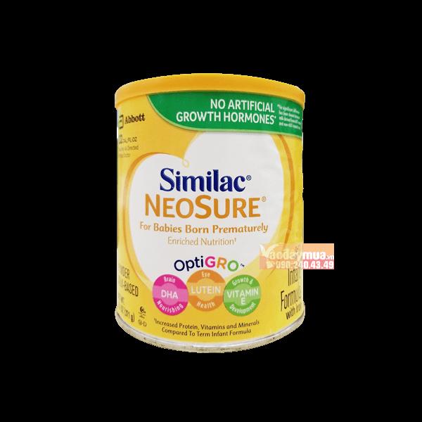 Hình ảnh tổng thể của Sữa Similac Neeosure dành do bé sinh non từ 0-12 tháng