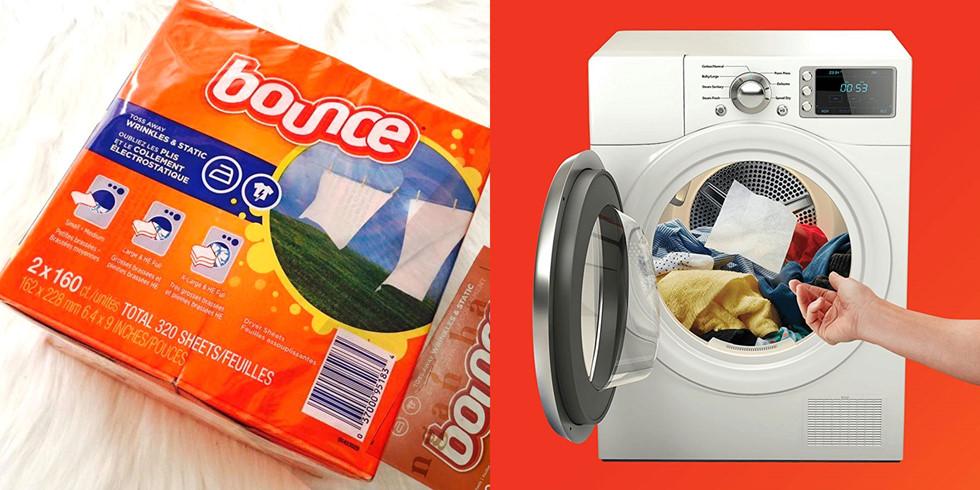 Nên bảo quản giấy thơm quần áo Bounce ở nhiệt độ mát